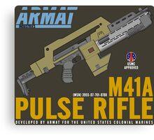 Aliens M41A Pulse RIfle Canvas Print