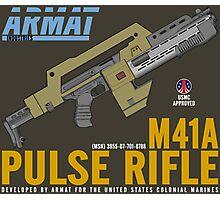 Aliens M41A Pulse RIfle Photographic Print