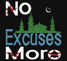 No more excuses for syria shirt by usubmit2allah