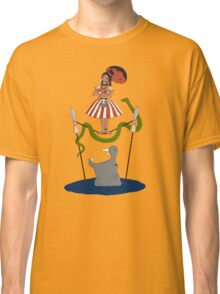 Jungle Cruise vs. Haunted Mansion Classic T-Shirt