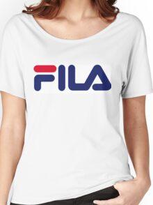 FILA Sport Logo Women's Relaxed Fit T-Shirt