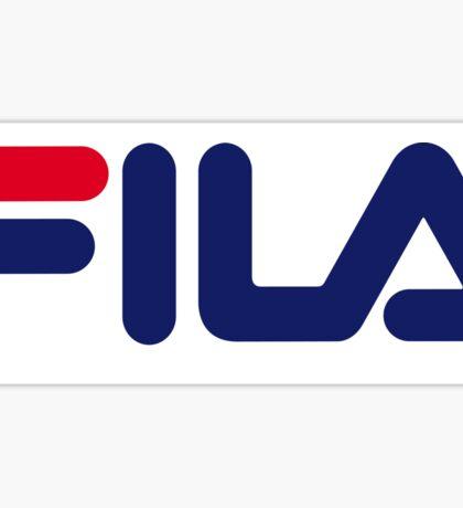 FILA Sport Logo Sticker