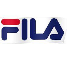 FILA Sport Logo Poster