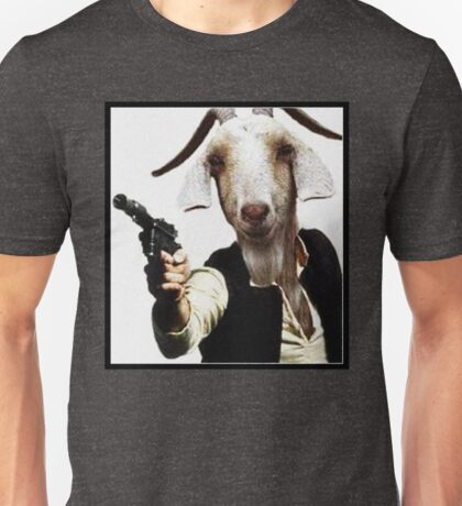 Mr Sunday / Goat Han Solo Unisex T-Shirt