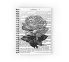 Antique Rose Spiral Notebook