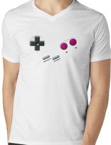 Gameboy Buttons Mens V-Neck T-Shirt