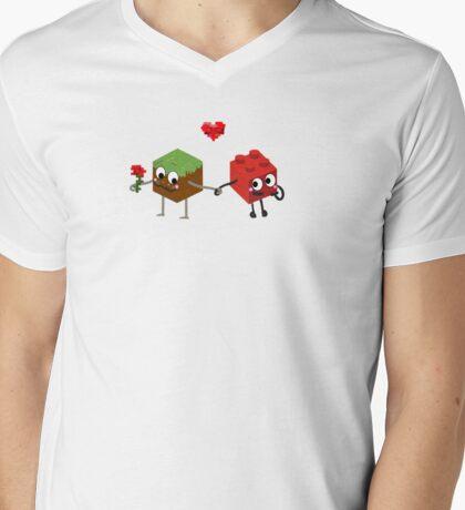 Building Love  Mens V-Neck T-Shirt