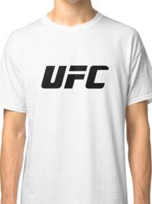 UFC Large Logo Black / White Classic T-Shirt