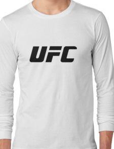 UFC Large Logo Black / White Long Sleeve T-Shirt