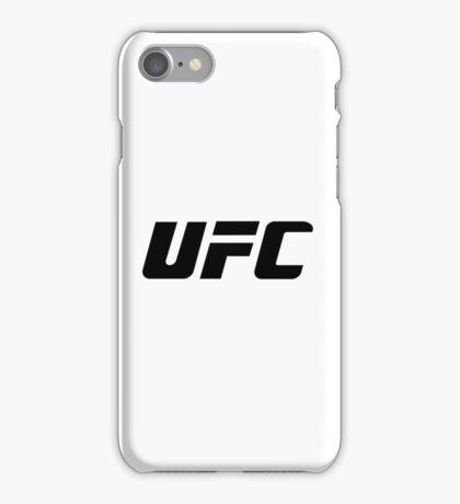 UFC Large Logo Black / White iPhone Case/Skin