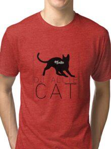 DJ Allie Cat #Ballie Tri-blend T-Shirt