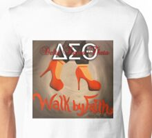WALK BY FAITH - DELTA SIGMA THETA Unisex T-Shirt