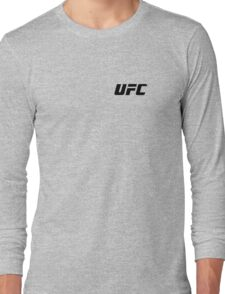 UFC Small Logo Black / White T-Shirt