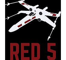 Red 5 Photographic Print