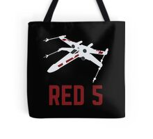 Red 5 Tote Bag