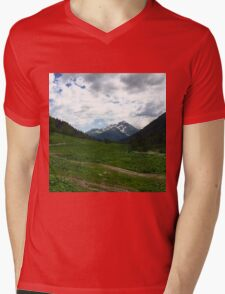 The mountains Mens V-Neck T-Shirt