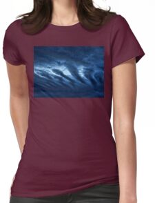 Rolling Clouds Womens Fitted T-Shirt