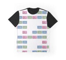 Pastel Cassettes Graphic T-Shirt