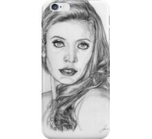 Glamour Model iPhone Case/Skin
