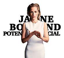 Gillian Anderson as Jane Bond Series Photographic Print