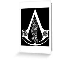 Assasins guild gallifrey Greeting Card