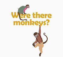 Were there monkeys? (yellow) T-Shirt