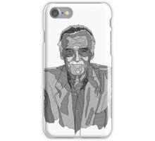 Stan Lee Linework iPhone Case/Skin