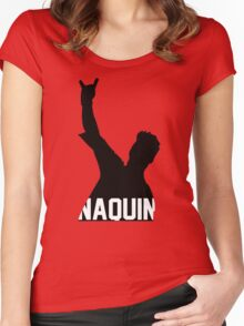 Tyler Naquin Silhouette Women's Fitted Scoop T-Shirt