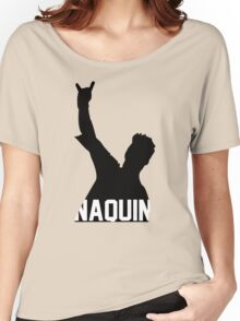 Tyler Naquin Silhouette Women's Relaxed Fit T-Shirt