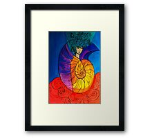 Nautilus Muse Framed Print