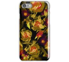 Seamless design abstraction Rose.  iPhone Case/Skin