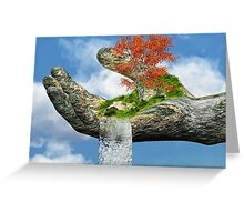 Piece of Nature Greeting Card