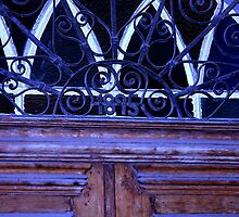 1895-an old door by Yannis-Tsif