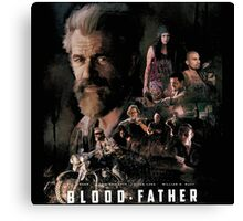 Blood father Canvas Print