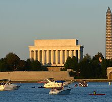 Washington D.C. one the Potomac by Matsumoto
