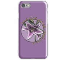 Consider the Lilies of the Field iPhone Case/Skin