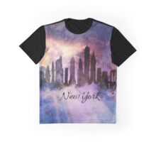 New York city Skyline in the clouds Graphic T-Shirt