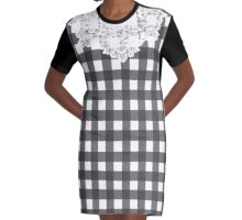 Country Lace - Stormclouds Graphic T-Shirt Dress