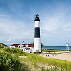 Big Sable Point Lighthouse by Robert Kelch, M.D.