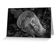 Buddha Tear Greeting Card