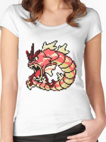 Red Gyarados Women's Fitted Scoop T-Shirt