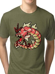 Red Gyarados Tri-blend T-Shirt