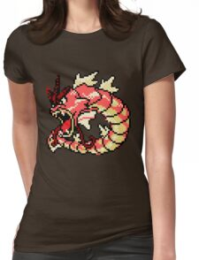 Red Gyarados Womens Fitted T-Shirt