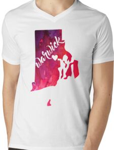 Warwick Mens V-Neck T-Shirt