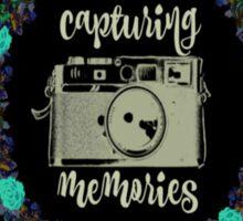 Capturing Memories Sticker