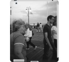 Woman on the Boardwalk iPad Case/Skin