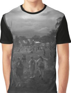 Festival Rain Graphic T-Shirt