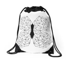 Butterflies Flutter By Drawstring Bag