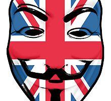 Guy Fawkes British Flag by GrimDork