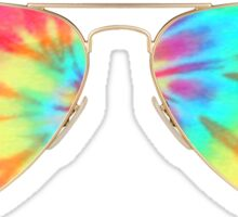 tie dye sunglasses  Sticker